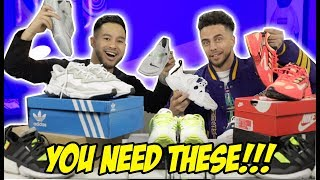 BEST SNEAKERS TO WEAR W/ SWEATPANTS & JOGGERS! (ATHLEISURE)