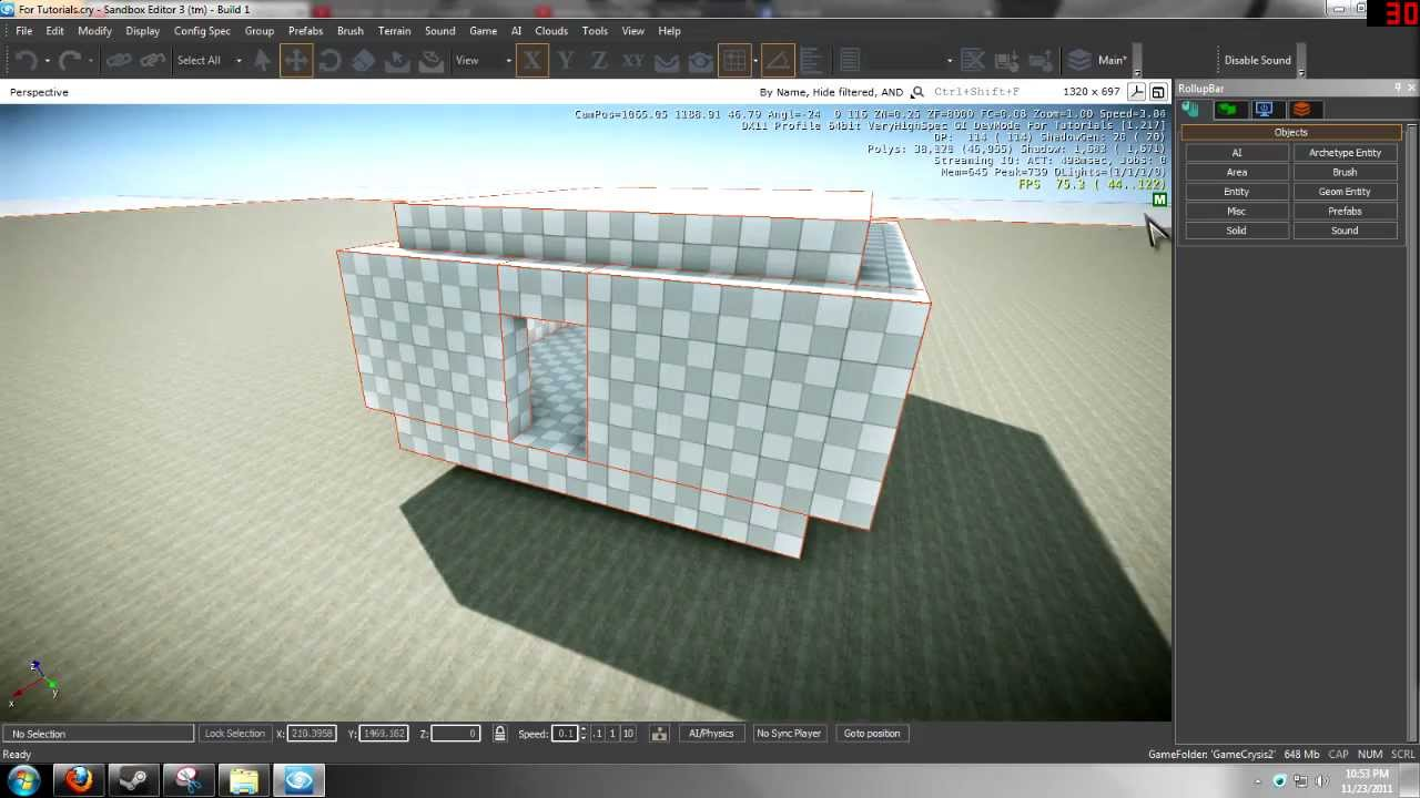 CryEngine 3 - VisAreas/Portals Basics