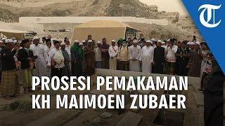 VIDEO: Detik-detik Prosesi Pemakaman KH Maimoen Zubaer di Ma'la