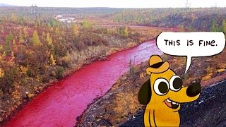 Russia Says Blood River Is Fine