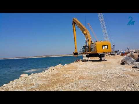 6015B  בבניית נמל אשדוד החדש