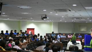 Lecture On  Curing Depression By HG Amoghlila Das At IIT Patna