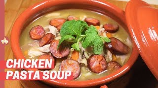 Chicken Pasta Soup / Canja