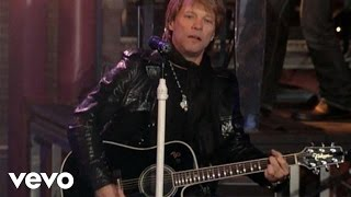 Gambar cover Bon Jovi - Wanted Dead Or Alive (Live on Letterman)
