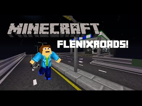 Minecraft Mod Review: FlenixRoads! (Streets, ATMs, and more!)
