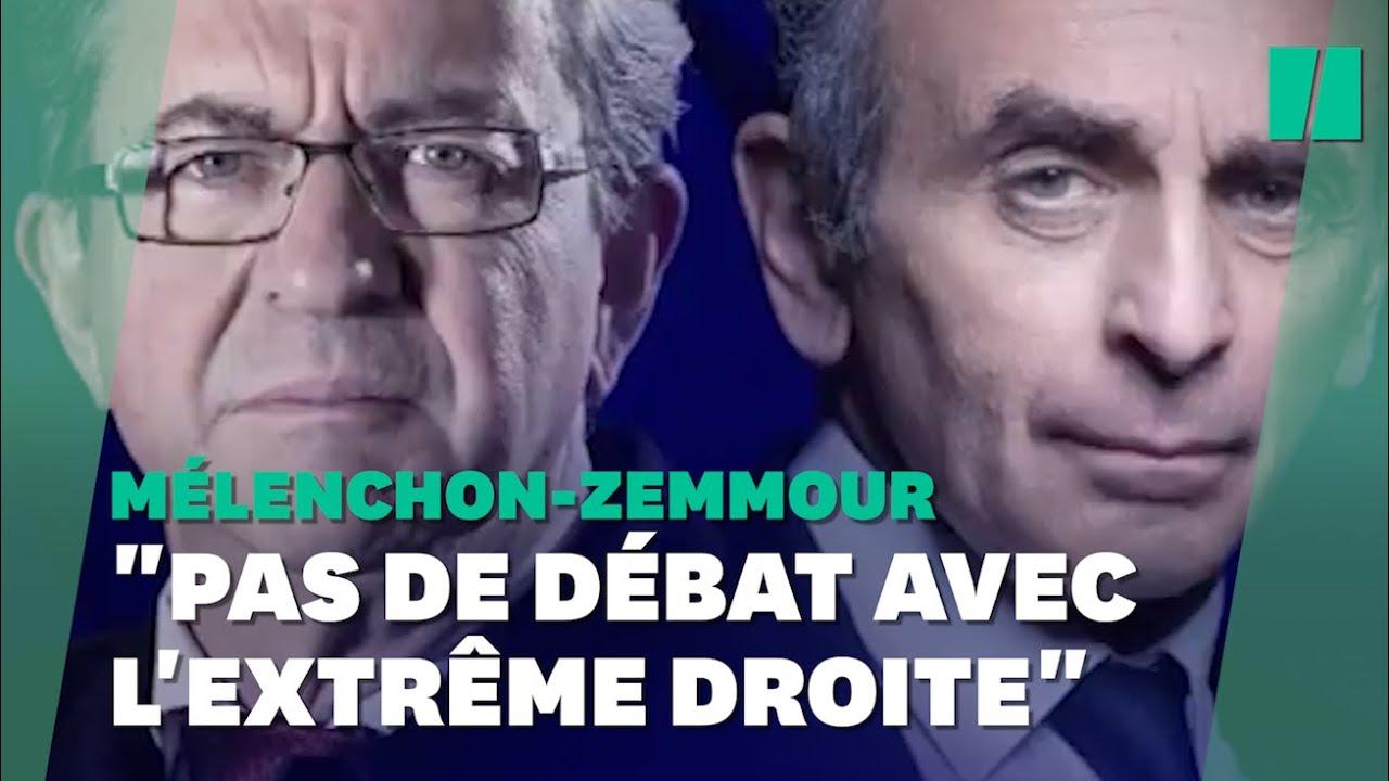 Le débat entre Jean-Luc Mélenchon et Éric Zemmour crispe la gauche