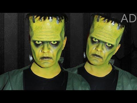 Frankenstein' s Monster - Makeup Tutorial in collaboration with Best Fiends! #AD