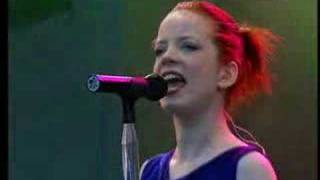 "Garbage ""Dumb"" Lorely Festival 1998"