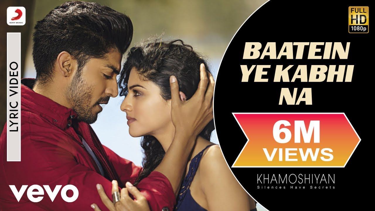 Lyrics of Baatein Ye Kabhi Na| Arijit Singh Lyrics