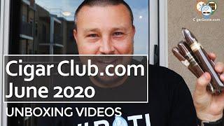 A NEW (OLD) Cigar Subscription - UNBOXING - CigarClub.com June 2020