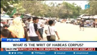 What is the writ of habeas corpus?
