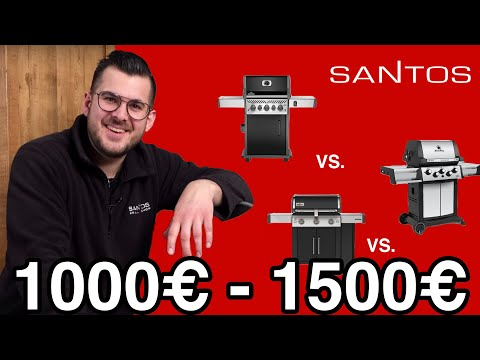 Bester Gasgrill für 1000 - 1500 € - Großer Grill Vergleich Test - Weber vs. Broil King vs. Napoleon