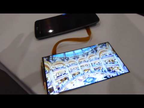 Watch The LG G-Flex's Screen Bend Back On Itself