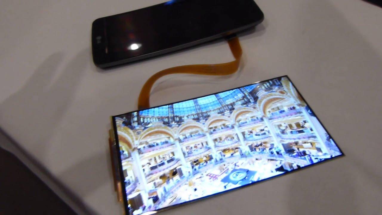 Watch The LG G-Flex's Screen Bend Back On Itself