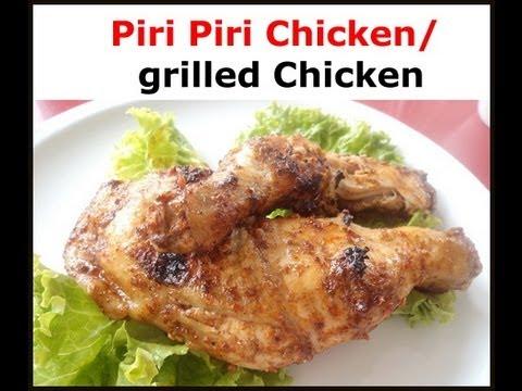 Piri Piri Chicken- African Food Recipes