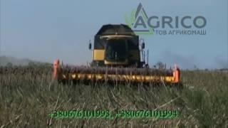 Приспособление для уборки подсолнечника new holland (Нью Холланд) от компании Агрикомаш ООО - видео