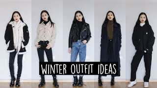 WINTER OUTFIT IDEAS // Layering