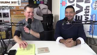 EPISODE 126 of TALKING JAZZ with guest Victor Garcia