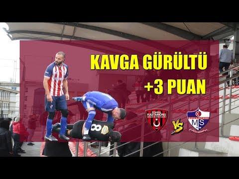 İstanbul Kastamonu - Merkezefendispor maç özeti