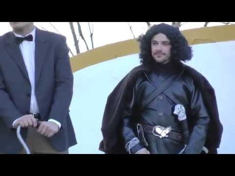 Juego de tronos Jon nieve disfraz de carnaval 2014