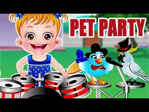 Video of Baby Hazel Pet Party