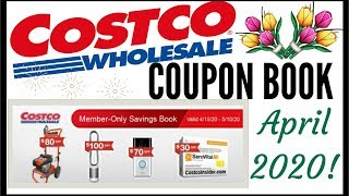 🌸APRIL 2020 COSTCO Coupon Book!!!🔥MEMBER ONLY SAVINGS DEALS 💰Preview 2020 ● 4/15/20 - 5/10/20