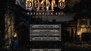 How to Fix & Play Diablo 2 Lord of Destruction on Windows Vista, 7 & 8