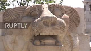 Syria: Museum of Damascus receives Temple of Baal ceiling replica