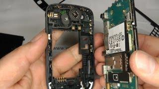 Blackberry Curve 8520 Screen Repair / Replace / Change A Broken LCD