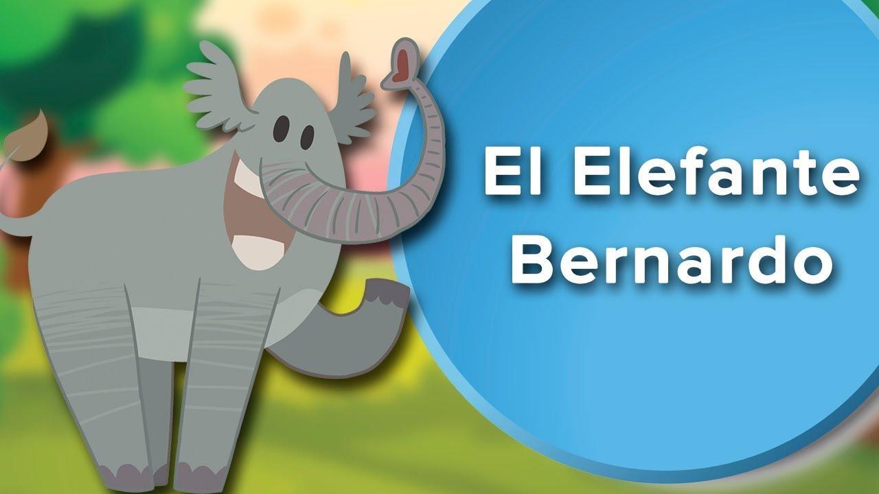 El elefante Bernardo | Cuento con valores para que los niños aprendan a respetar ????