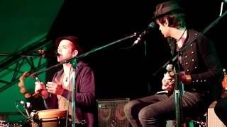 The Trews - The Traveling Kind (Acoustic) - Live in Red Deer Aug 13/10