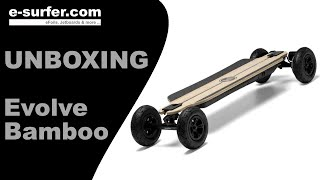 Evolve Bamboo GT Unboxing (deutsch)