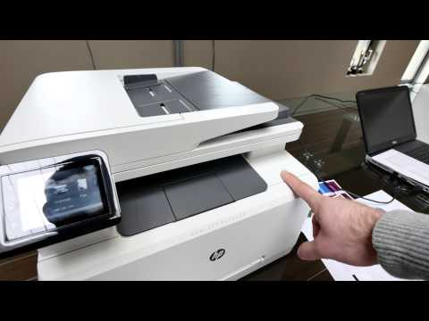 HP Color LaserJet Pro MFP M277 Hands On [4K Deutsch]