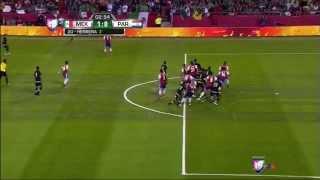 Eduardo Herrera Debut Goal Vs Paraguay | Mexico Vs Paraguay 1 0 March 2015