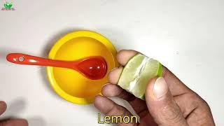 Wow 5 Miutes,Bigger! With Vaseline,Lemon And Colget/Ruzi Health Tips