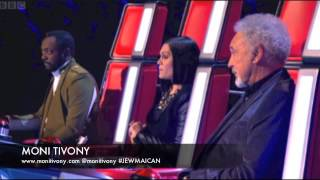 The Voice UK 2013 | Moni Tivony  'No Woman, No Cry' - Full Blind Auditions 6 - BBC One the voice