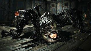 Resident Evil 7: Jack Baker Boss Fight (3rd Encounter) (1080p 60fps)