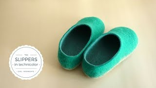 Learn How To Make Felt Slippers - Introduction