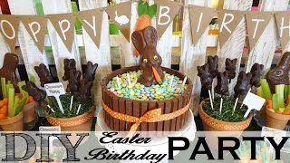 *DIY* Easter Birthday Party