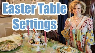 Easter Table Setting Ideas To Style Your Table!