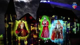 Video Mappping Pe Castelul Corvinilor - Festivalul Luminii și Noaptea Muzeelor 2019
