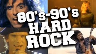 Top 50 Hard Rock Songs of the '80s & '90s