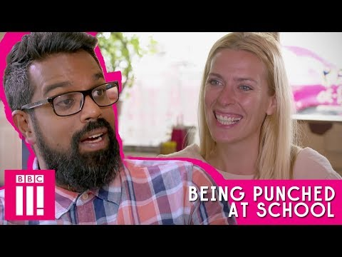 Being Punched At School   Romesh Talks To Sara Pascoe