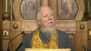 Протоиерей Димитрий Смирнов. Проповедь о победе Христа над миром