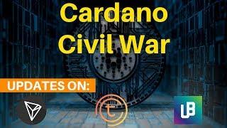 Cardano ADA Civil War, TRON Hype, Unibright UBT + TOMOchain  - Today