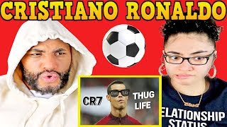 MY DAD REACTS TO Cristiano Ronaldo Thug Life - Compiliation / 2019 REACTION