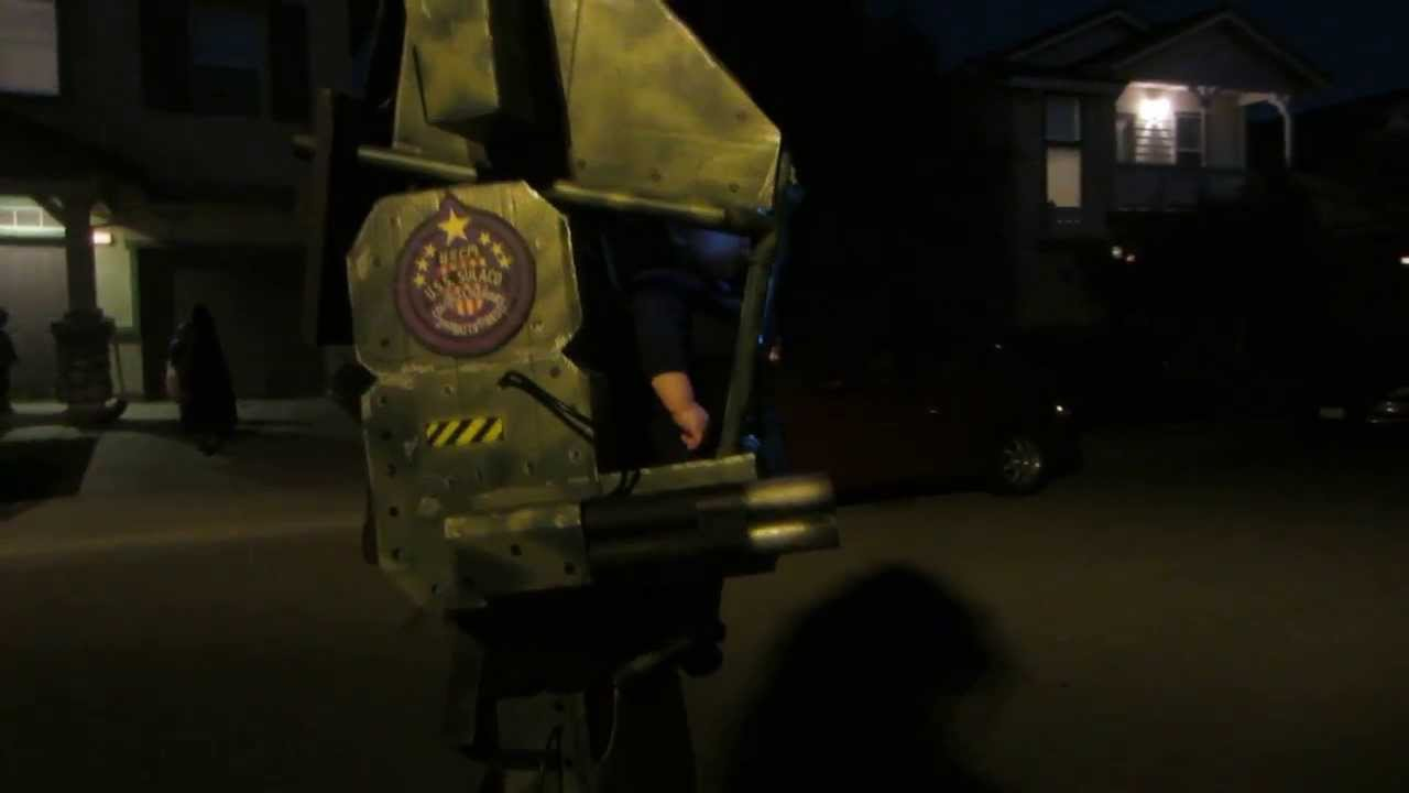 A Six-Month Old In A Mech Suit Is The Best Costume Ever