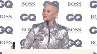GQ Awards 2018 | Rose's Speech