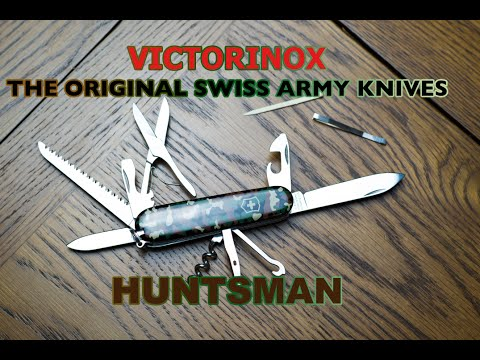 Victorinox Huntsman – The Swiss Army Knife – Unboxing and overview [review]