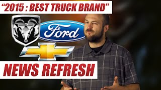 Best Truck Brand of 2015 : Ford, Chevy, or RAM?